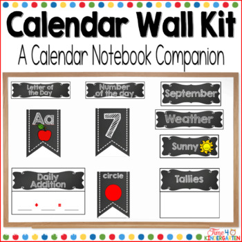 calendar wall, math wall, calendar time, kindergarten math wall