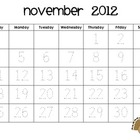 Calendar Tracing for 2012-2013 School Year