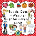 Calendar Whole Year of Holidays Cover-Up Cards