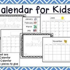 Calendar for Kids!