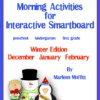 Calendar/Weather/Attendance for Interactive Smartboard Win