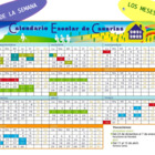 Calendario: a cultural and activity calendar for 2012-13