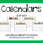 Calendars 2012-2013