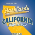 California English and Language Arts Flashcards