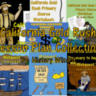 California Gold Rush Worksheets and Activities