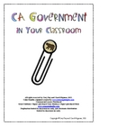 California Government in Your Classroom