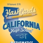 California Mathematics Flashcards
