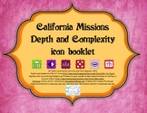 California Mission Icon Booklet