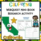 California State Mini Report Classification Activity Printable