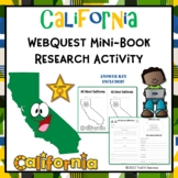 California Mini Book Research Activity Web Quest