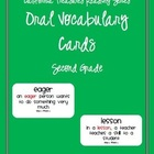 California Treasures Oral Vocabulary Cards