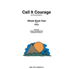 Call It Courage      Whole Book Test