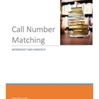 Call Number Matching for the Dewey Decimal System
