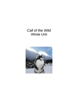 Call of the Wild WholeUnit