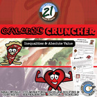 Calorie Cruncher -- Diet & Fitness Math Project