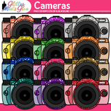 Cameras Dipped in Glitter Clipart - Digital SLR 35mm - Tec
