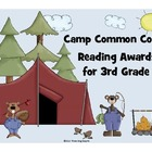 Camp Common Core - Set of 24 Reading Awards 3rd Grade