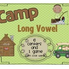 Camp Long Vowel - A Unit Focused on CVCe words