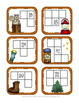 Camp Math Stations