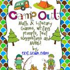 Camp Out! Math & Literacy Activities, Text Suggestions, and MORE!