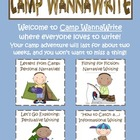 Camp WannaWrite {Common Core Writing: Narrative, Persuasiv