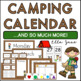 Camping Calendar Bulletin Board Set