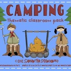 Camping Classroom Theme Pack
