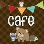 Camping Cuties-Critters Cafe Signs