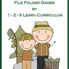 Camping Fun - File Folder Games