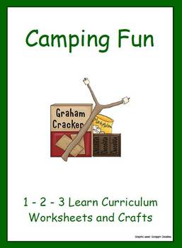 Camping Fun - Worksheets and Crafts
