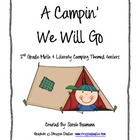 Camping Literacy & Math Themed Centers