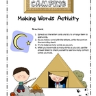 Camping Making Words
