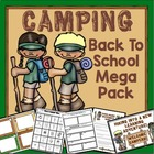 Camping Theme Back to School Mega Pack