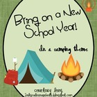 Camping Theme Beginning of the Year Packet