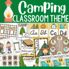 Camping Theme Classroom Decor and Organizational Pack