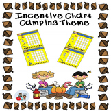 Camping Theme Incentive Sticker Chart
