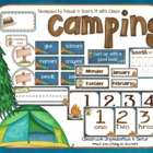 Camping Theme {Organization &amp; Decor)