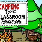 Camping Theme Pack from Teacher's Clubhouse