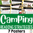 Camping Theme Reading Strategy Posters