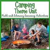 Camping Theme Unit