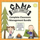 Behavior Management Character Unit, Task Cards, Writing Ac