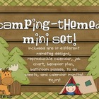 Camping Themed Mini Classroom Set!