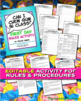 """Can I Chew Gum in Class?"" First Day Class Rules Activity"