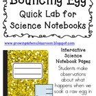 Can You Make an Egg Bounce? ~ Quick Lab Pack for Interacti