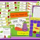 Can You Read It? Kindergarten Sight Words Reading Game