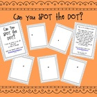 Can You SPOT the DOT? A book art activity.