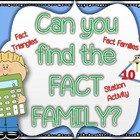 Can you find my FACT FAMILY?