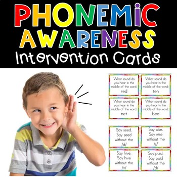 Can you hear me now? Phonological Awareness Unit for Kindergarten