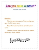 Can you make a match?
