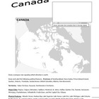 Canada Atlas Page Fact Sheet